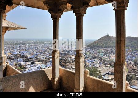 Ville de Bundi palace rajasthan Inde Asie