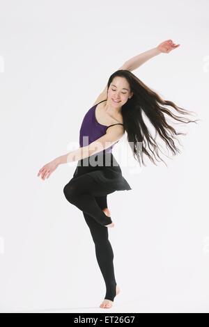 Danseuse japonaise Banque D'Images