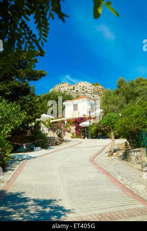 Château Saint-Georges - Kastro, Kefalonia, Grèce Banque D'Images