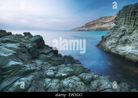 Beau paysage marin. Composition de la nature. Banque D'Images