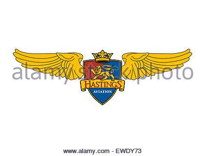 Hastings Aviation logo icône drapeau symbole emblème signe