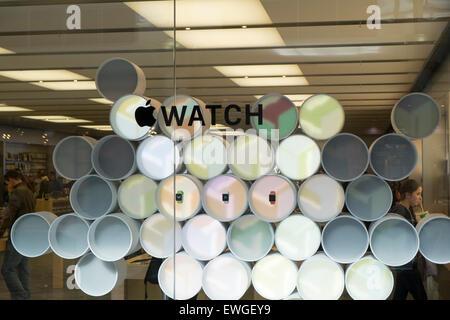 Apple Store, Canberra, centre commercial Mall Center au milieu de Canberra dans le territoire de la capitale australienne, Banque D'Images