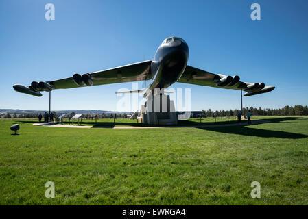 Affichage des b-52d bomber à la United States Air Force Academy, Colorado Springs, États-Unis d'Amérique, Amérique du Nord , États-Unis
