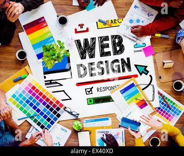 Conception Web Développement Idées de Style Concept d'interface
