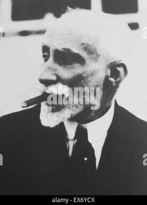 Antonio Maura et Montaner (Palma de Majorque, 2 mai 1853 - Torrelodones , Décembre 13, 1925 ) était un homme politique Banque D'Images