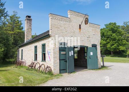Doon Heritage Village Blacksmith building Banque D'Images