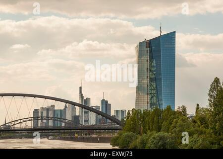 Eurotower, Frankfurt am Main, Hesse, Germany, Europe