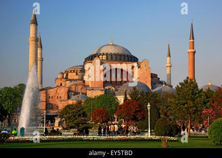 """Sainte-sophie, l'un des principaux """"marques"""" d'Istanbul, Turquie Banque D'Images"""