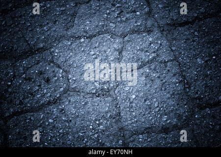 Résumé Contexte L'asphalte Banque D'Images