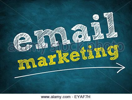 marketing par courriel Banque D'Images