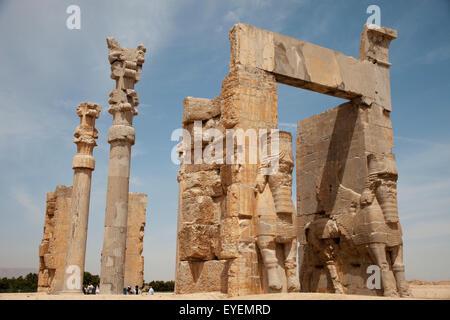 Porte de tous les pays, Persepolis, Iran Banque D'Images