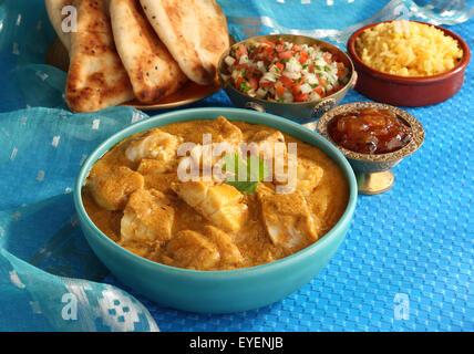 Indien Curry de Poisson Bengali