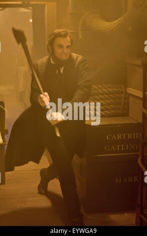 Abraham Lincoln: Vampire Hunter; Année: 2012; USA Réalisateur: Timur Bekmambetov; Benjamin Walker Banque D'Images