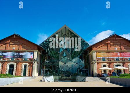 Balna, Whale (2013), immeuble multifonctionnel, immobilier boutiques et espaces d'exposition, Budapest, Hongrie Banque D'Images