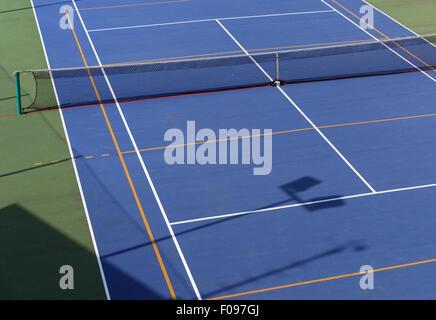 Court de tennis d'en haut Banque D'Images