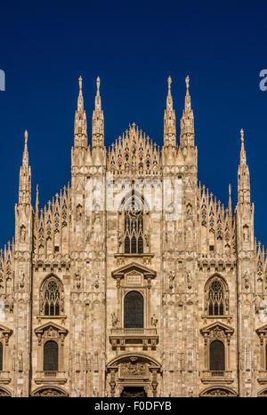 Cathédrale de Milan Banque D'Images