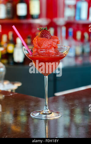 Strawberry margarita Banque D'Images