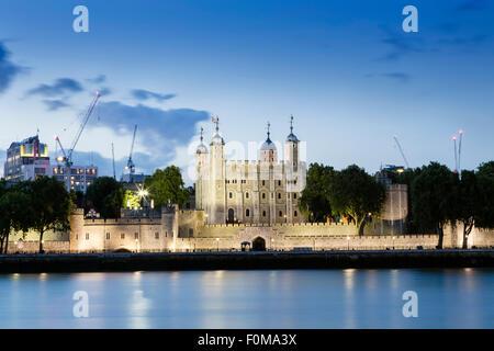 La Tour de Londres, Londres, Angleterre Banque D'Images