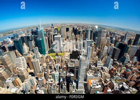 New York City Skyline Banque D'Images