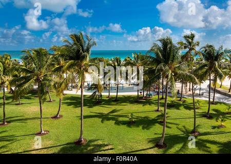Miami, Lummus Park Banque D'Images