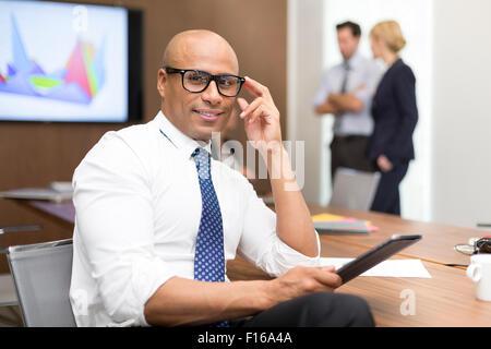 Portrait of a businessman Banque D'Images