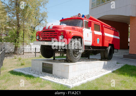 Irkoutsk, en Sibérie, en Russie. 26 Sep, 2009. Le camion de pompiers. Irkoutsk, en Sibérie, Russie © Andrey Nekrasov/ZUMA/ZUMAPRESS.com/Alamy fil Live News