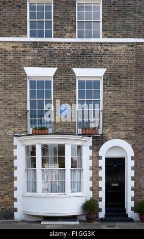 La chambre à Ramsgate Kent le Vincent Van Gogh vivait en 1876 Banque D'Images