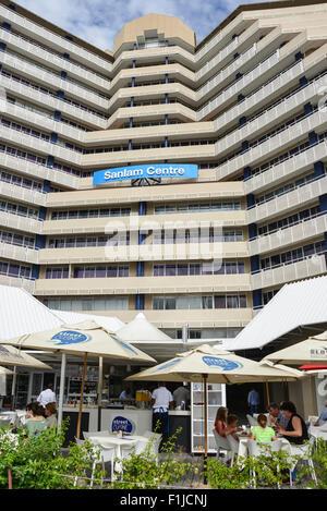 Sanlam Centre, avenue de l'indépendance, Windhoek, Khomas Windhuk (région), République de Namibie Banque D'Images