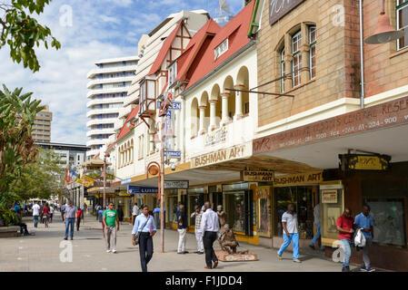 Avenue de l'indépendance, Windhoek, Khomas Windhuk (région), République de Namibie Banque D'Images