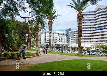 Zoopark, Avenue de l'indépendance, Windhoek, Khomas Windhuk (région), République de Namibie Banque D'Images