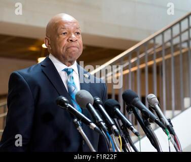 Représentant des États-Unis Elijah Cummings (démocrate du Maryland), Rang, US House Sélectionnez chargé d'enquêter Banque D'Images
