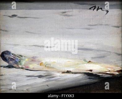 Asperge,l'asperge 1880 par Edouard Manet 1832-1888 Banque D'Images