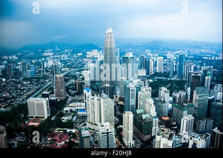 Skyline, Kuala Lumpur, Malaisie Banque D'Images