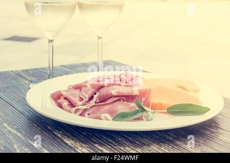 Cuisine italienne. Banque D'Images