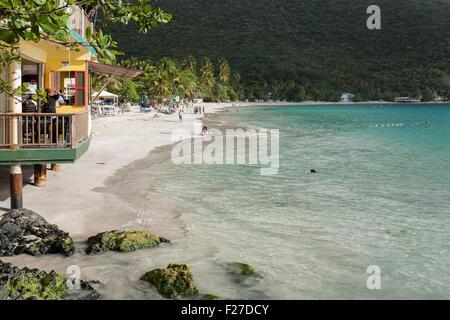 Cane Garden Bay, Tortola, British Virgin Islands Banque D'Images