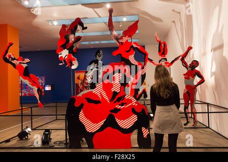 Londres, Royaume-Uni. 14/09/2015. Henri Cueco, Grande Réserve, 1969. Appuyez sur Aperçu de l'exposition - Le monde Banque D'Images