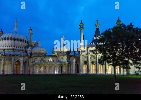 02.06.2012, Brighton, Angleterre du Sud-Est, Royaume-Uni - le Royal Pavilion, un must pour tous les visiteurs à Banque D'Images