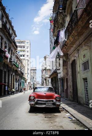 Classic Car La Havane, Cuba Banque D'Images
