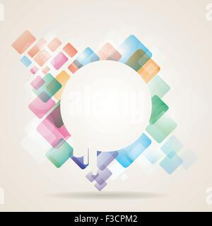 Abstract Background Vector illustration Banque D'Images