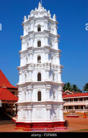 Shri Mangesh temple; Ponda Goa; Inde;