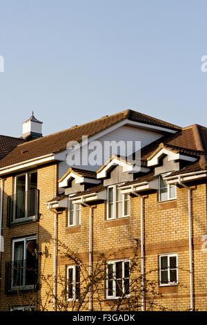 Les immeubles à appartements; Londres; Royaume-Uni Royaume-Uni Angleterre Banque D'Images
