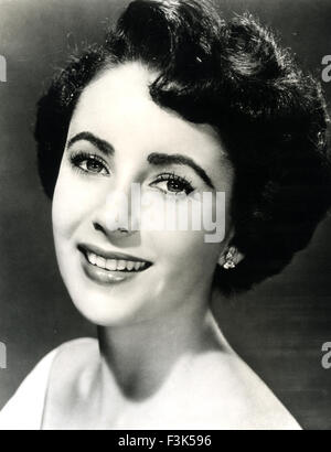 ELIZABETH TAYLOR (1932-2011) Actrice anglo-américaines vers 1950