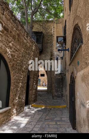Vieille ruelle de Jaffa Banque D'Images