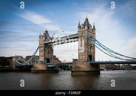 Tower Bridge, Londres, Royaume-Uni Banque D'Images