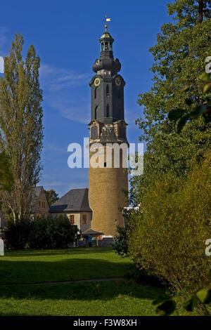 Tower City Palace à Weimar, Allemagne Banque D'Images