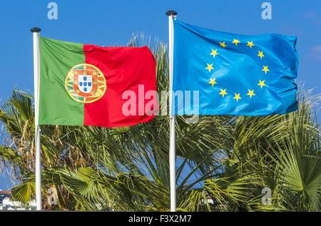 Le Portugal, l'Union européenne Banque D'Images