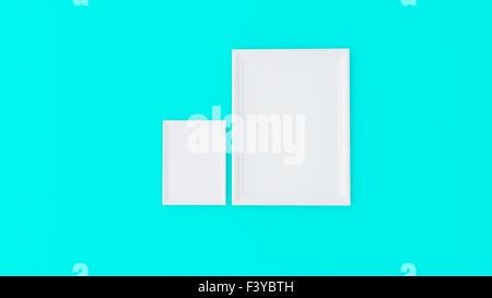 Cadre vide, concept art Banque D'Images