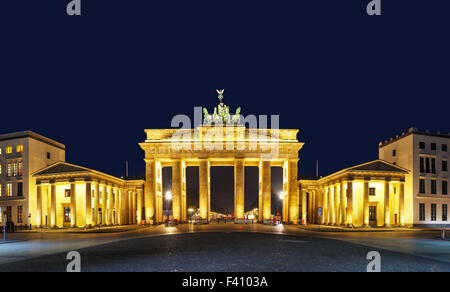 La porte de Brandebourg à Berlin, Allemagne Banque D'Images