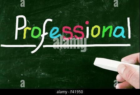 Concept professionnel Banque D'Images