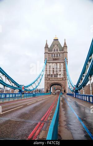 Tower Bridge à Londres, Grande-Bretagne Banque D'Images